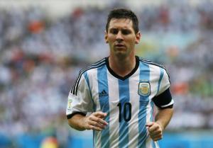 Messi en Brasil 2014