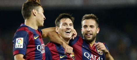 Messi ante el Elche