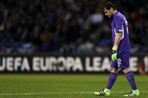 Iker Casillas estrés
